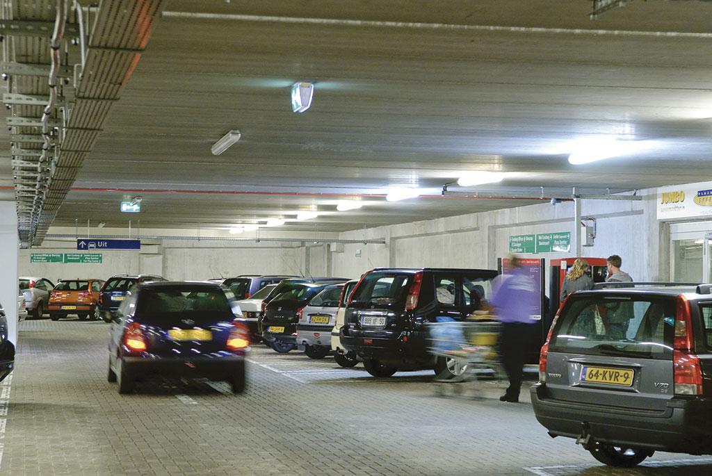 Parkeren bij de Euroborg